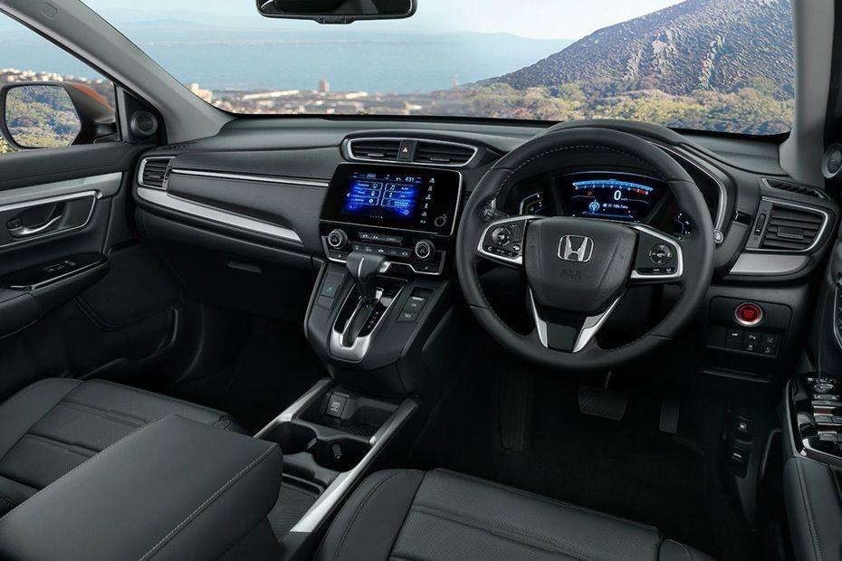 interior Honda CR-V yang terlihat lebih elegan dan canggih