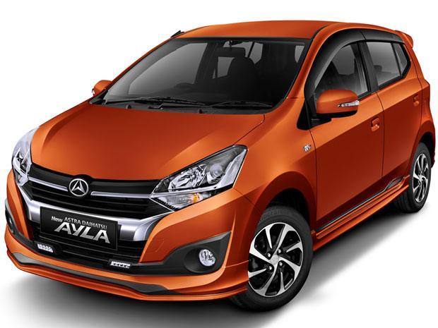 Daihatsu Ayla dengan desain terbaru yang lebih sporty