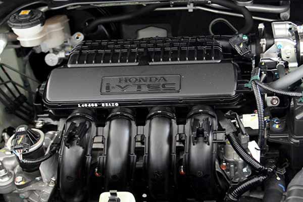 mesin Honda City berkapasitas 1.497 cc dengan Drive By Wire