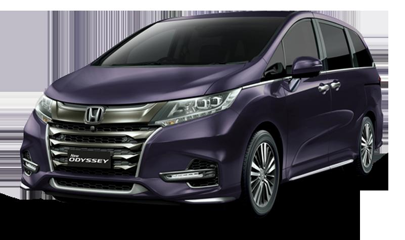 eksterior Honda Odyssey yang menonjolkan sisi mewah dan elegan